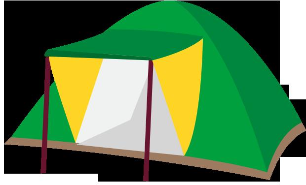 キャンプ風KIDSスペース設置!
