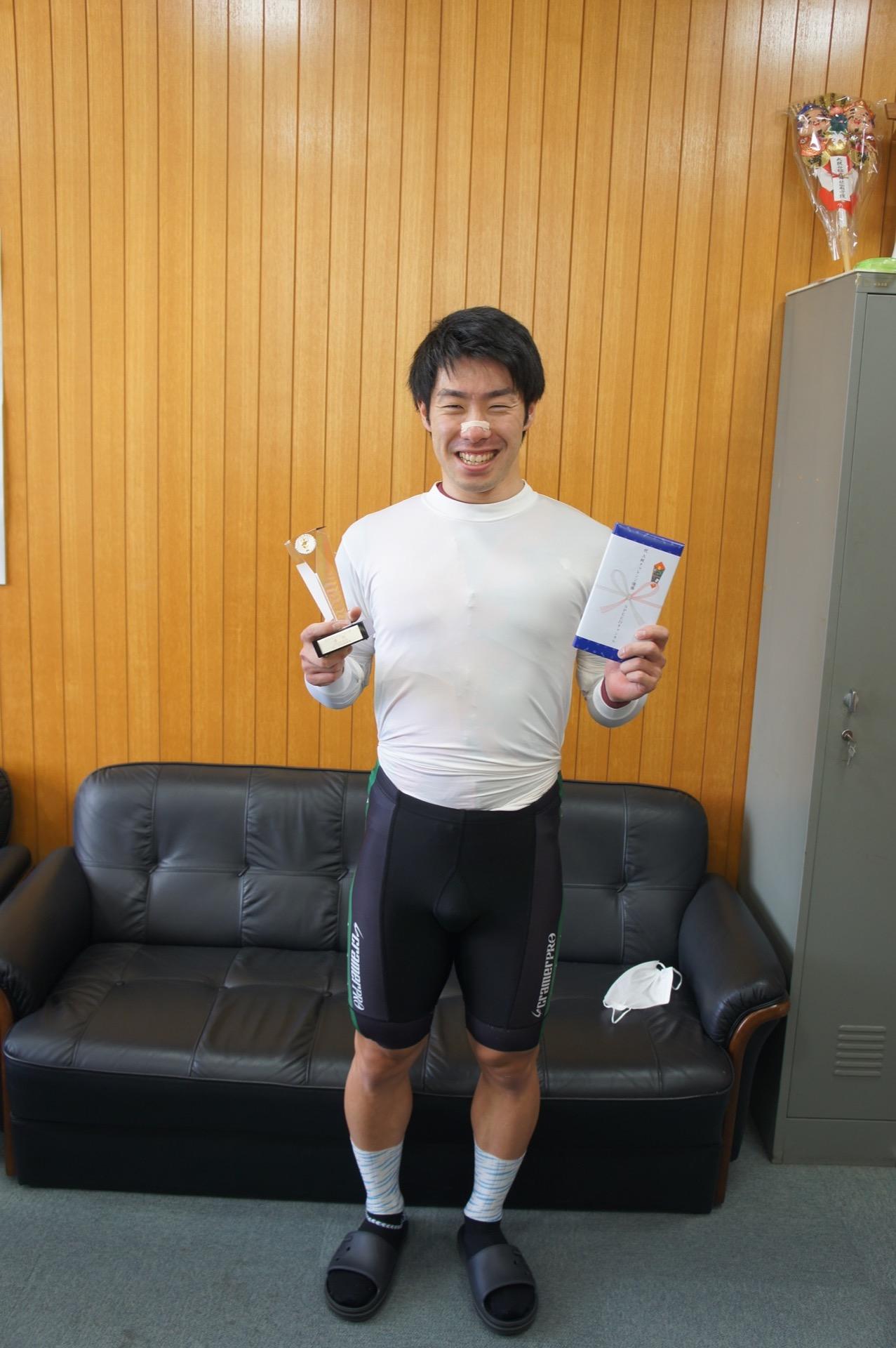 畝木 聖 選手(岡山県・117期)