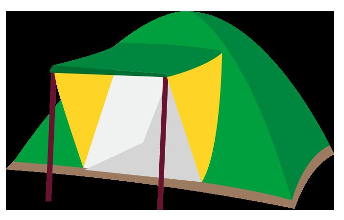 キャンプ風KIDSスペース