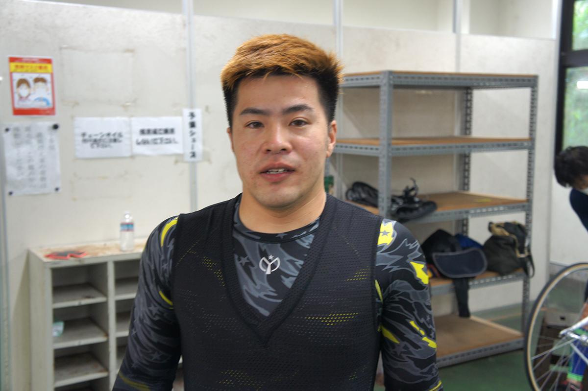 藤原 俊太郎選手(岡山県・111期)